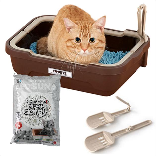 トイレトレー&猫砂